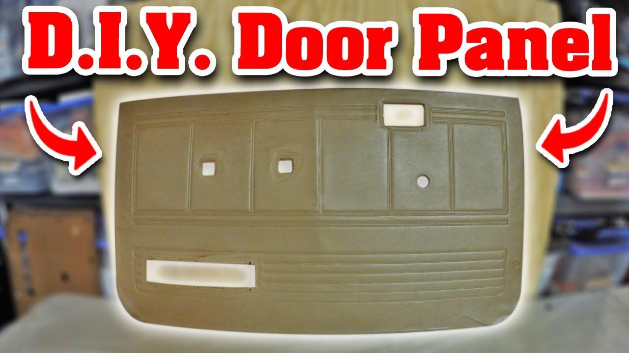 Recreating The Door Panels Mazda B2000 Youtube