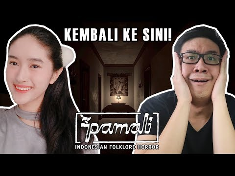 Game Horror Indonesia Kembali! - Pamali (w/ Cindy Monika)