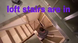 LOFT STAIRCASE AND WINDOW INSTALL PART 3
