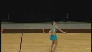 Jennifer Marcus 2nd World Baton Twirling 2007 Canada