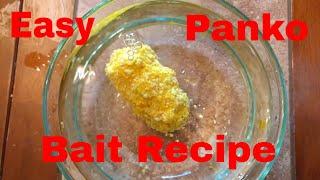 How to make panko pack bait carp fishing recipe