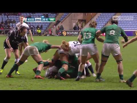 Highlights, Red Roses 33 - 11 Ireland Women