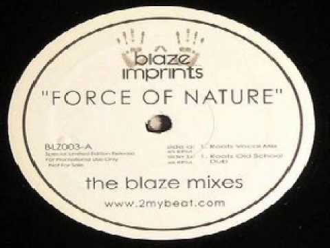 Sunshine Anderson – Force Of Nature (Blaze Roots Vocal Mix)
