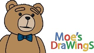 TED How to draw and coloring fun new Hd video for kids
