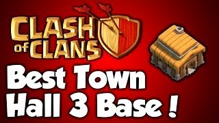 Best Town Hall 3 defense strategy + Defense Clips [Clash of Clans Best TH3 Defense Strategy] 2016!!