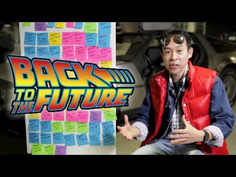 4 Major Conflicts Of Back To The Future - Real Time Script Analysis with Andrew Horng