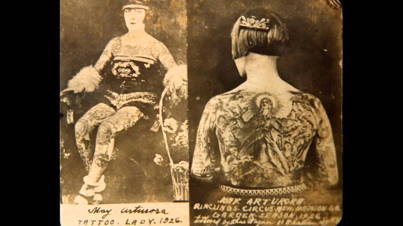 rock of ages, religious icons in tattoo history - youtube