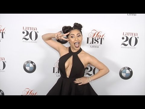 Michelle Ortiz Latina's 7th Annual Hollywood Hot List Red Carpet thumbnail