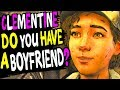 Clementine You Ever Have A BOYFRIEND? She Thinks about Gabe ❤️ The Walking Dead Season 4 Episode 1