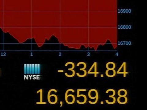 Dow Average Has Biggest Drop of the Year