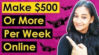 How To Make Money Online As A Beginner ($500 A Week)