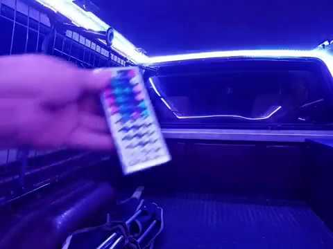 20 Dollar Led Camper Shell Lighting Installed Youtube