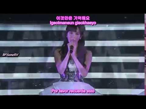 Girls' Generation - Promise Live (Hangul + Romanización + Sub Español)