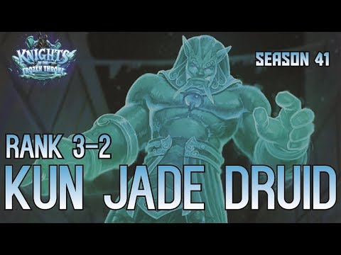 Hearthstone - Rank 3-2 - Kun Jade Druid