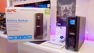 APC Back UPS Pro 1000 Battery Backup with LCD review (BR1000G)