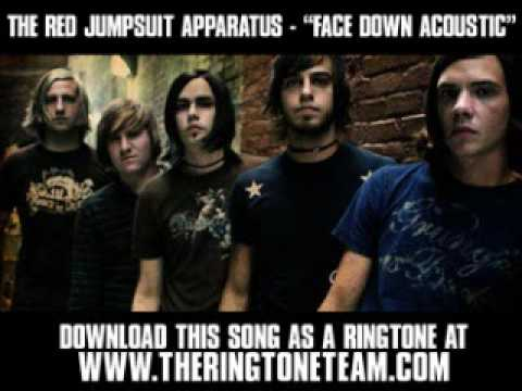 The Red Jumpsuit Apparatus - Face Down ( Acoustic ) [ New Video + Lyrics + Download ]