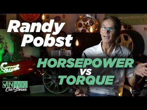 Randy Pobst explains the difference between Horsepower & Torque