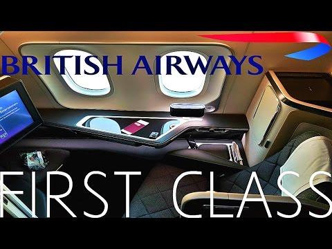 BRITISH AIRWAYS FIRST CLASS REVIEW 787-9 DREAMLINER
