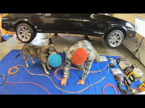 Wiring The Mustang From Scratch - Painless Pro Harness And Dakota Digital Gauges Preview