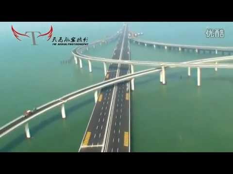 VIDEO: Cel mai lung pod peste apa din lume