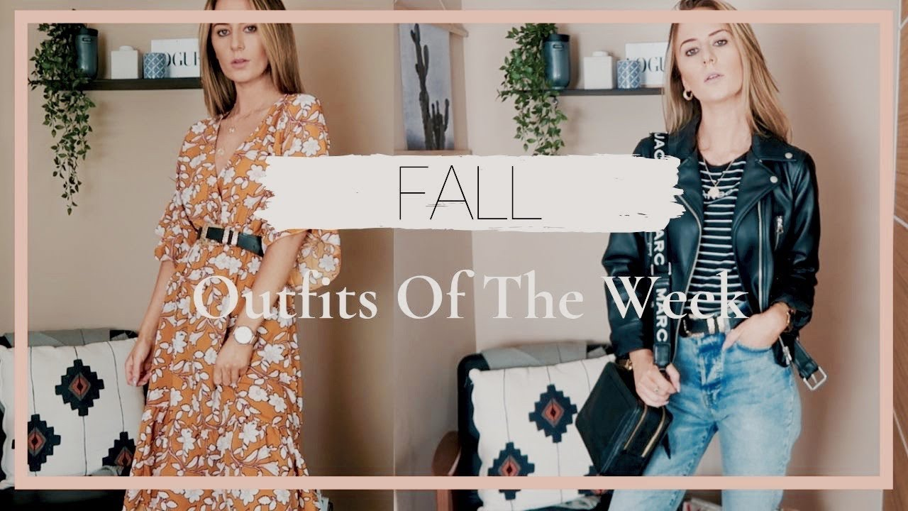 Fall Outfits of The Week 2019 | Lookbook 2