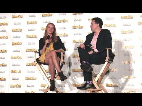 Amy Acker  Q&A panel @ Megacon Orlando 2018