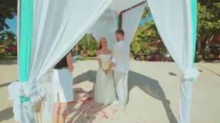 Свадебное видео с церемонии Ольги и Алексея на Самуи