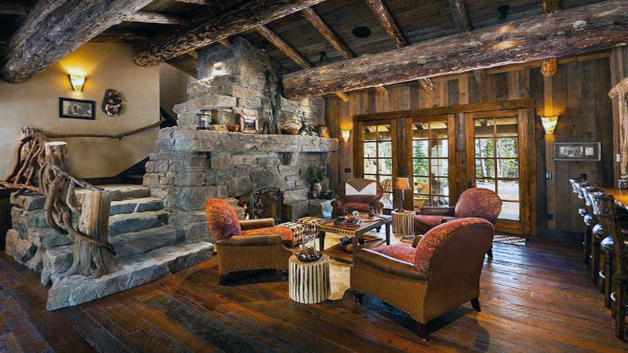 Classic Rustic Living Rooms ᴴᴰ ·▭· · ···   YouTube