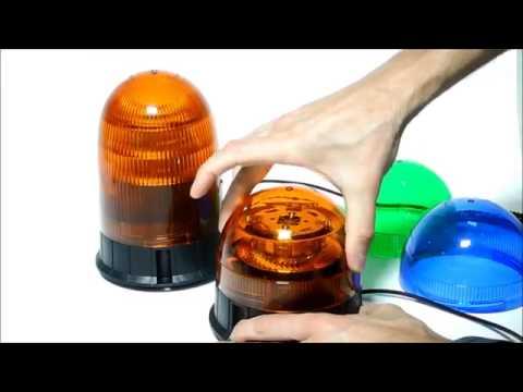 10r Homologuation Orange 12v 24v Vert Ece Gyrophare Bleu Led Cnjy R65 nOvmN0wyP8