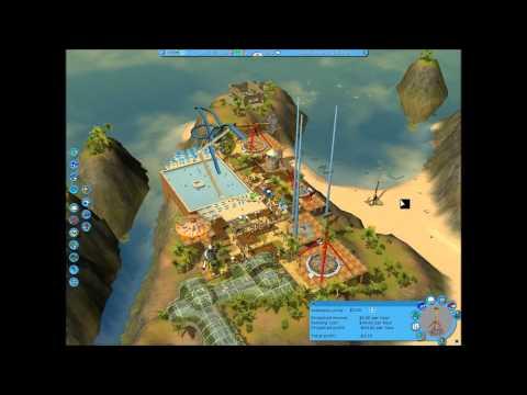 Rollercoaster Tycoon 3, Soaked!, Career Mode, Scenario 3; Lost Atlantis