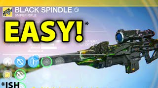 EASY EXOTIC SNIPER! Destiny Black Spindle Tips