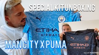 NEW MAN CITY AWAY 20/21 SEASON KIT UNBOXING!! MAN CITY X PUMA