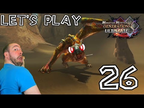 Let's Play Monster Hunter Generations Ultimate - #26: Gravios, Tigrex et duo Volvidon/Iodrome ! thumbnail