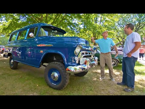 Lifted Chevy Suburban Napco 4 Wheel Drive Conversion