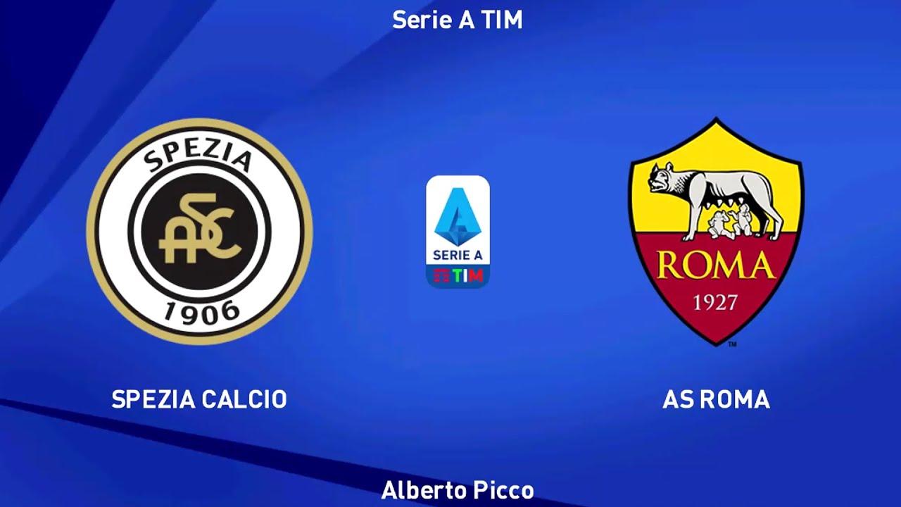 Download ⚽ Spezia vs Roma ⚽   Serie A (23/05/2021)   PES 2021