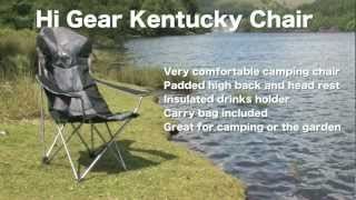 Hi Gear Kentucky Camping Chair