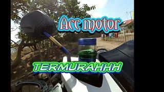 Review Acc motor tutup minyak rem transparan