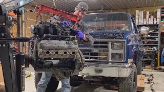 How to LS swap an old Chevy Square Body.