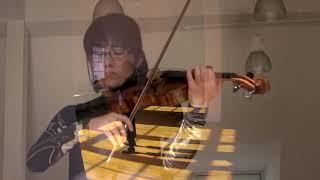 J.S.Bach : Suite for Cello Solo No.2  Prelude (Viola: Megumi Kasakawa)