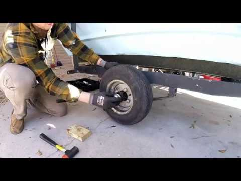 Boat Trailer Hub Assembly