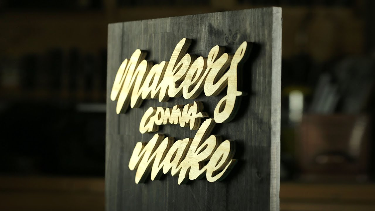 diy hand lettering wooden sign home decor and perfect gift idea oddly satisfying