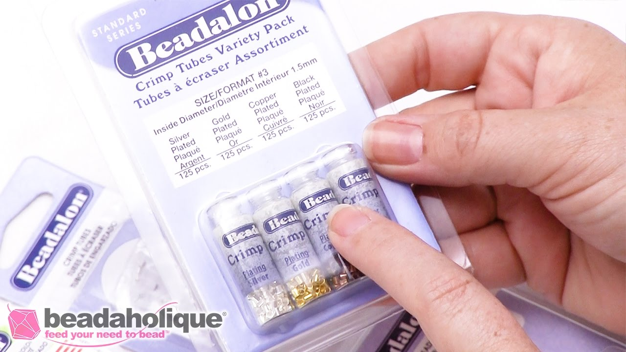 How to Choose the Right Size Beadalon Crimp Beads and Tubes to Match ...