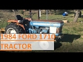 I bought a 1984 Ford 1710 tractor.