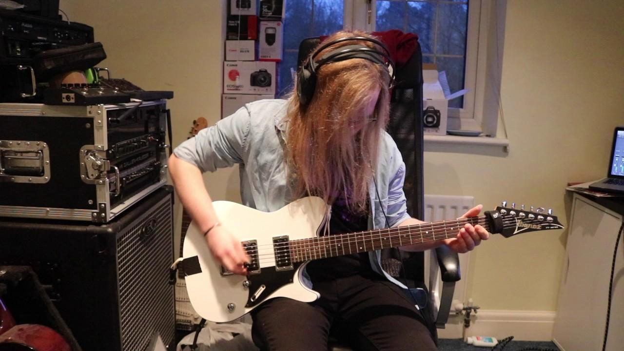 The Devil Wears Prada Anatomy guitar cover - YouTube