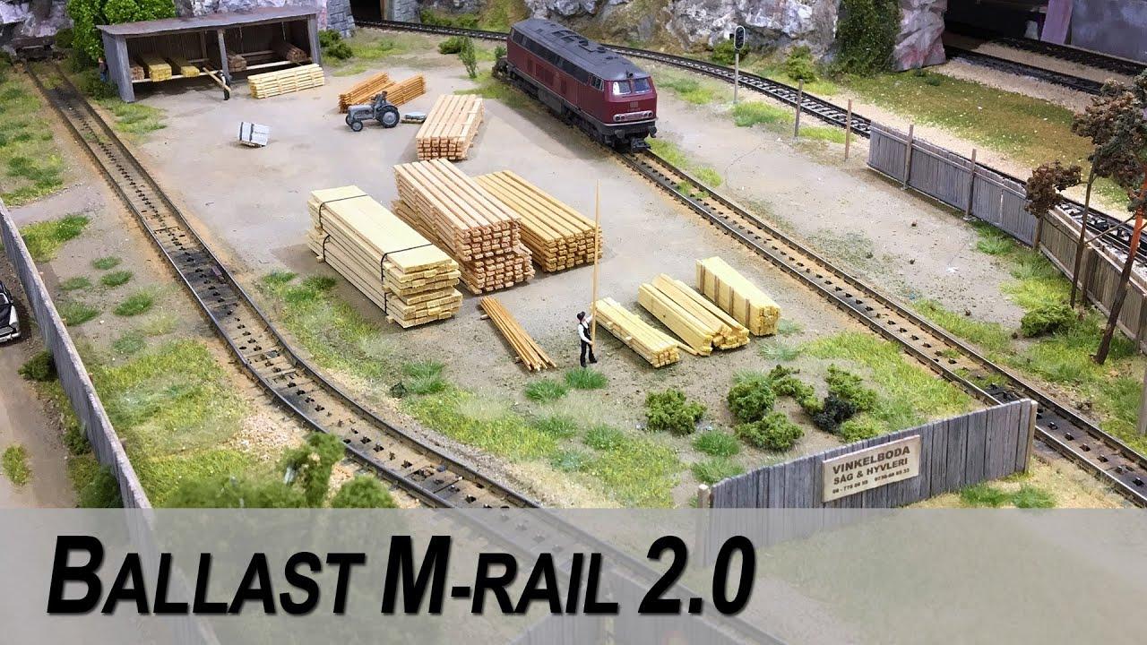 Ballast Mrklin M-Rail For Increased Realism - Youtube-4219