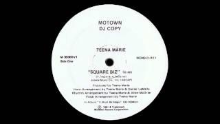 TEENA MARIE - Square Biz [HQ]