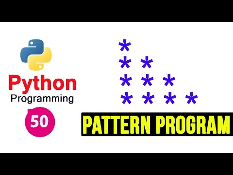 Python 3 Pattern Program 1 - Printing Stars in Right Angle Triangle Shape