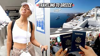 traveling to greece: mykonos and santorini vlog