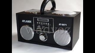 портативная колонка Atlanfa AT-8971 обзор