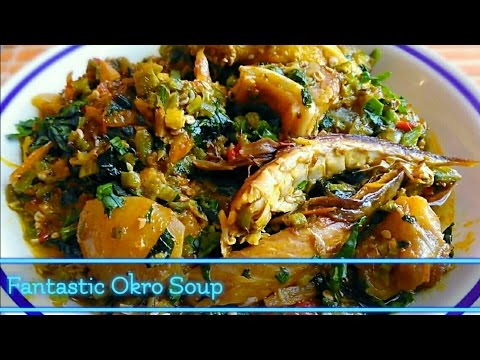 Okro/Okra Soup | Quick and easy!